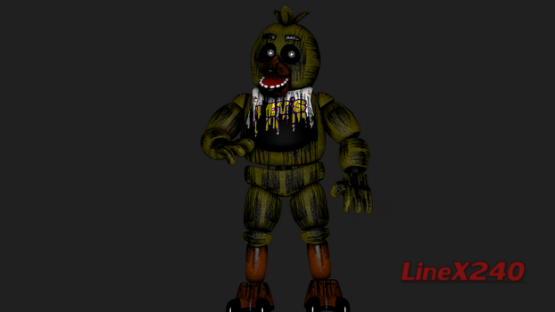 [SFM FNAF3] Phantom Chica - Textures (READ DESC) by LineX240