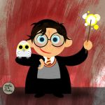 Vector Potter 1: Harry Potter by brodiehbrockie