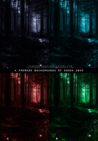 Premade backgrounds - Forest by VanessaPadua