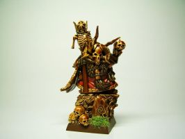 Chaos Dwarf Sorcerer 1 by Necro1989