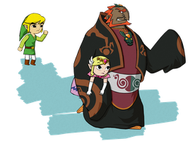 Curse you, Ganondorf! by Tharene