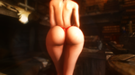 Dat Butt #5...Red Lace.... by Toshihirohei