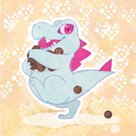 Totodile Thief! by wowiealli