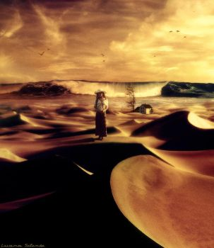 Desert of my Loneliness by luana