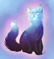 Universe Cat by candy-behemoth
