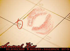 Sensual Kiss PS Brushes by SoWicked