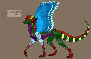 my chaos form by element-dragonx