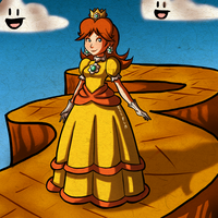 Princess Daisy by Zeepla