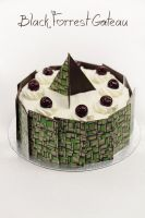 Black Forrest gateau by kupenska