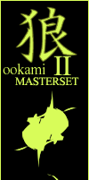 ookami Masterset II by TreehouseCharms