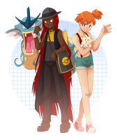Comm: Alluren and Misty by Miss-Sheepy