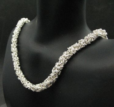 Silver Turkish Necklace by andrewk1969