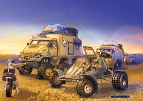 explorers in other planet by Chavito34