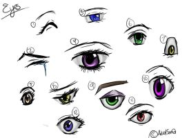 Eye Study by Astral-sama