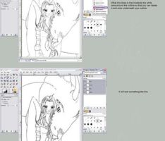 SeperateLayer Lineart Tutorial by Feimi