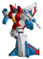 Starscream-G1 by hybridav