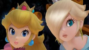 Peach and Rosalina by PeachyEstela