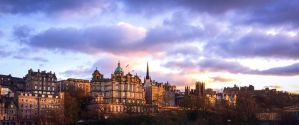 Old Town Edinburgh by JANorlin
