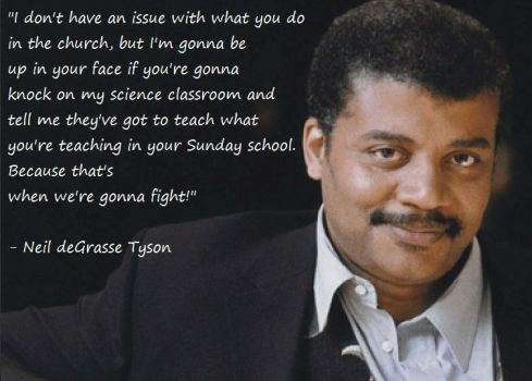 Neil deGrasse Tyson on Science and Religion by strangemask