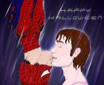 Klaine: The Spider-man Kiss by Nephaddicted