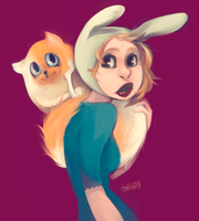 Fionna and Cake by torsh19