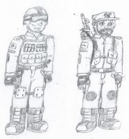 Confederate Infantry Concept Art by TomQuoVadis