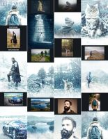 Let It Snow - Photoshop Action by GraphicAssets