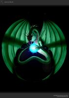 Wyvern of the Orb by xistenceimaginations