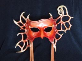 Leather Mask - Turning Leaf by xothique