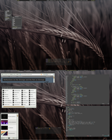Brown Flux - Lunar Linux by pkmurugan