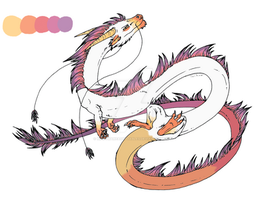 :Dragon Adopt:1:CLOSED: by NightmareAdoptables