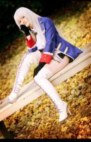 Hetalia - Prussian Girl by aco-rea