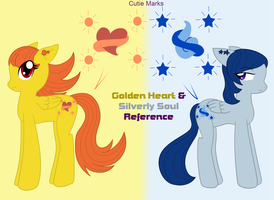 MLPFIM OCs Heart and Soul Ref by HeroineMarielys