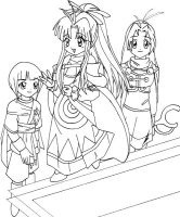 GS Girls by laquaza
