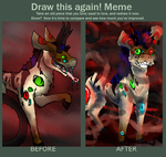 Redraw meme by luna141
