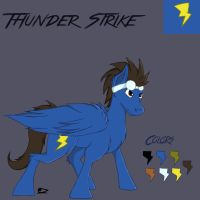 Thunder Strike Reference (Request) by Roomble