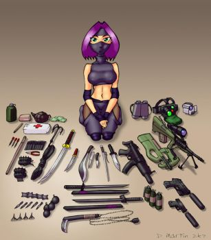 Tools of the Ninja by penguin-commando