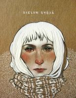 Sketchbook Cover: Tuija by ameliadolezal