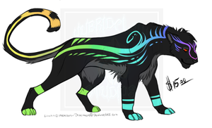 [Cash Adopt] - Rainbow Panther SOLD by Linka-Bell