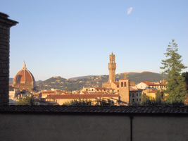View of the Duomo and Palazzo Vecchio by JJPoatree