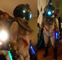 Bioshock 2 - Eleanor WIP update 2 by Lily-pily