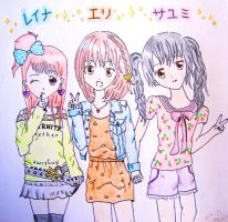 Morning Musume 6th Generation by belabellissima