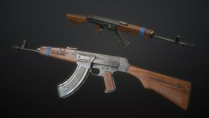 Kuzmischev's Assault Rifle AK-44 #3 by Kutejnikov