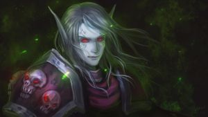 Gender-bend Sylvanas Windrunner by Athena-Erocith