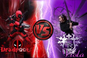Deadpool VS Viola by OxBloodrayne1989xO