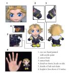 "tidus 3"" mini plushie by chicharon"