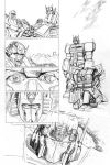 Transformers - Combiner Wars#5 - page 11 pencils by MarcFerreira
