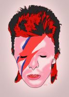 Celebrity Ports 1 - David Bowie by resresres
