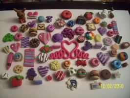 Fimo Charms by emmy-db