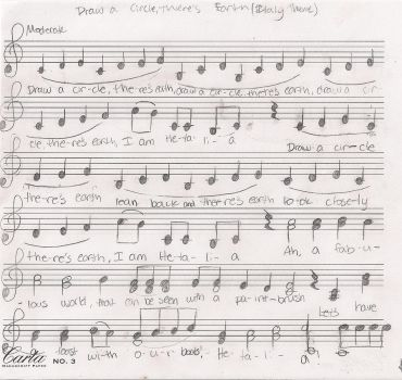 hetalia theme sheet music 1 by StaraLaura